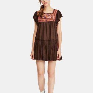 Free People Day Glow Mini Dress. L